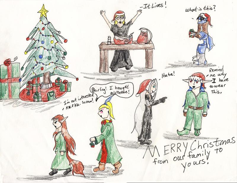 Merry Christmas by Midorii-kiri