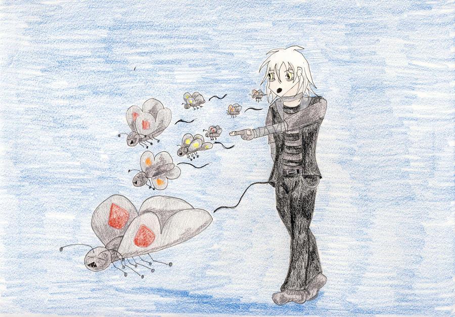 Zombie Butterflies by Midorii-kiri