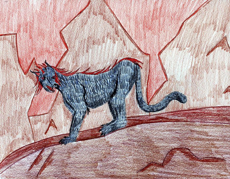 Hound of the Abyss by Midorii-kiri