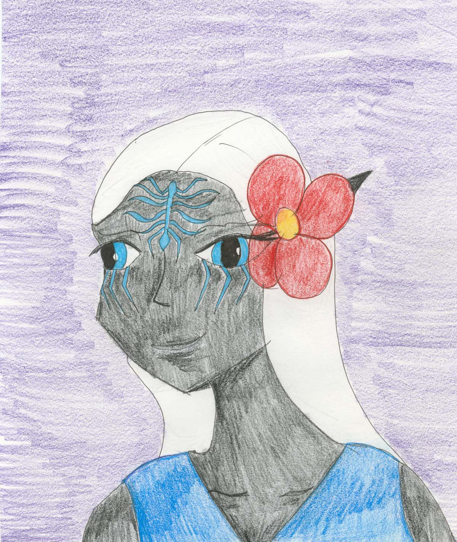 Earawen Bust by Midorii-kiri