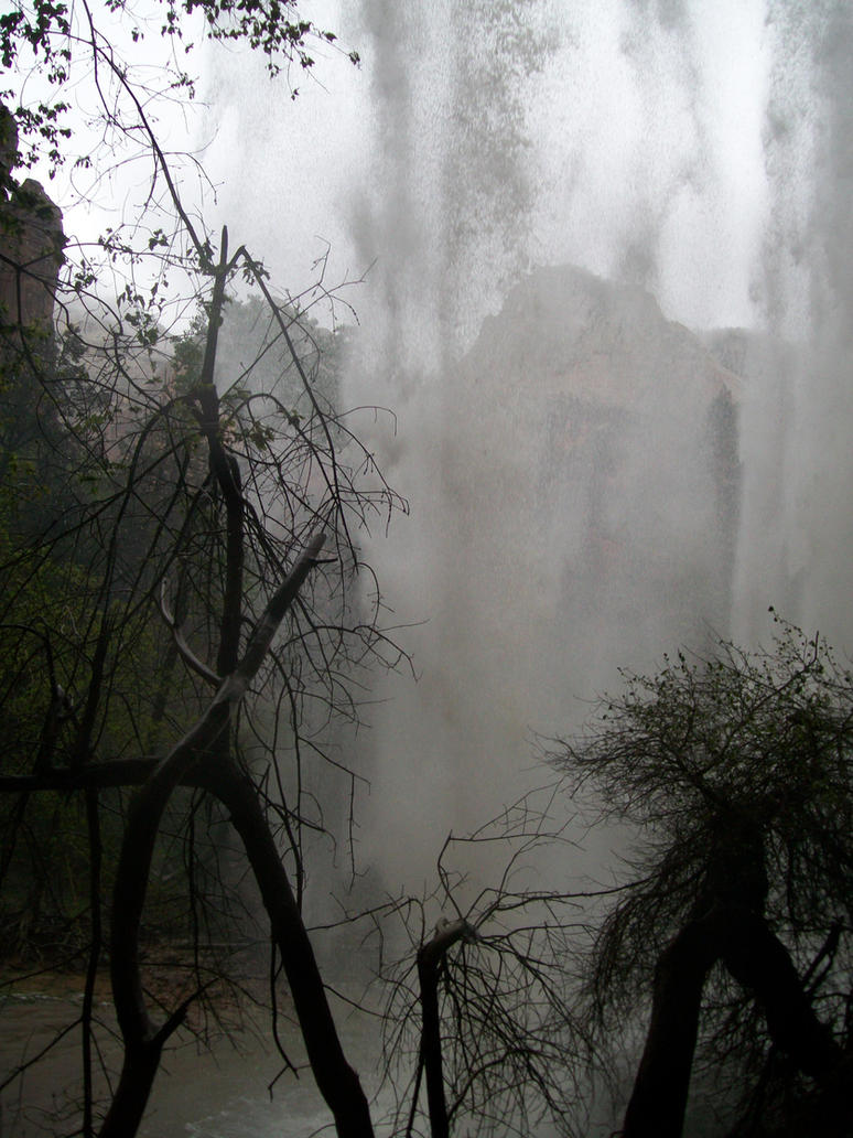 Behind the 1st Waterfall 4 by Midorii-kiri
