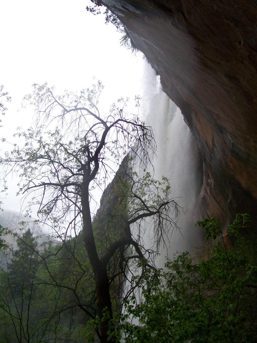 Behind the 1st Waterfall 5 by Midorii-kiri