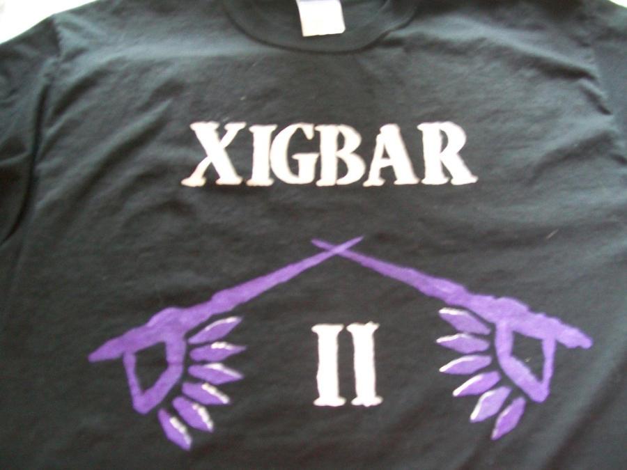 Xigbar T-shirt Front by Midorii-kiri