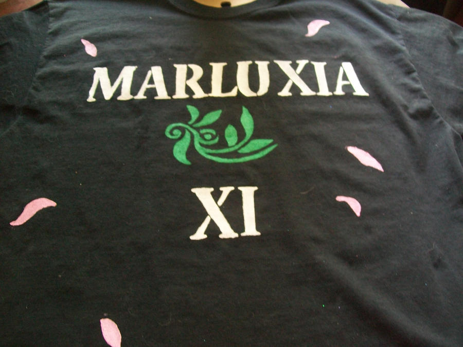 Marluxia T-shirt Close-Up by Midorii-kiri