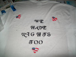 Undead American T-shirt back by Midorii-kiri