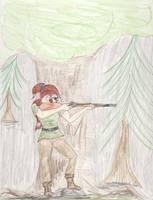 Mistress of the Hunt by Midorii-kiri
