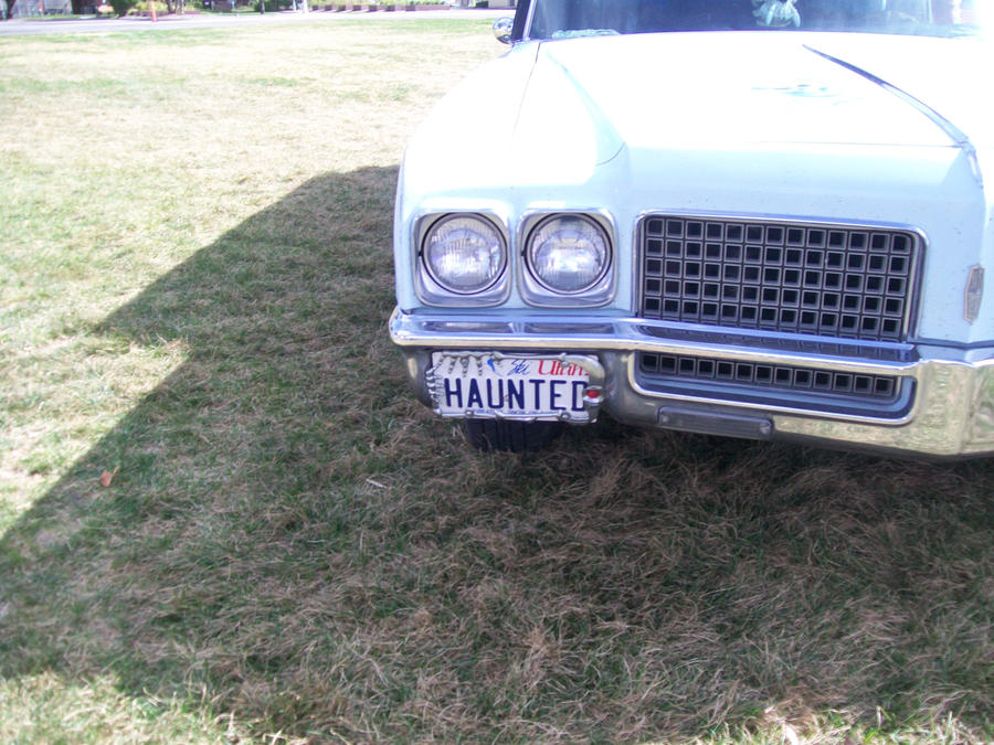 Haunted License Plate by Midorii-kiri