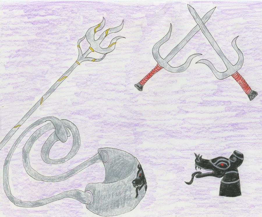 Weapons by Midorii-kiri