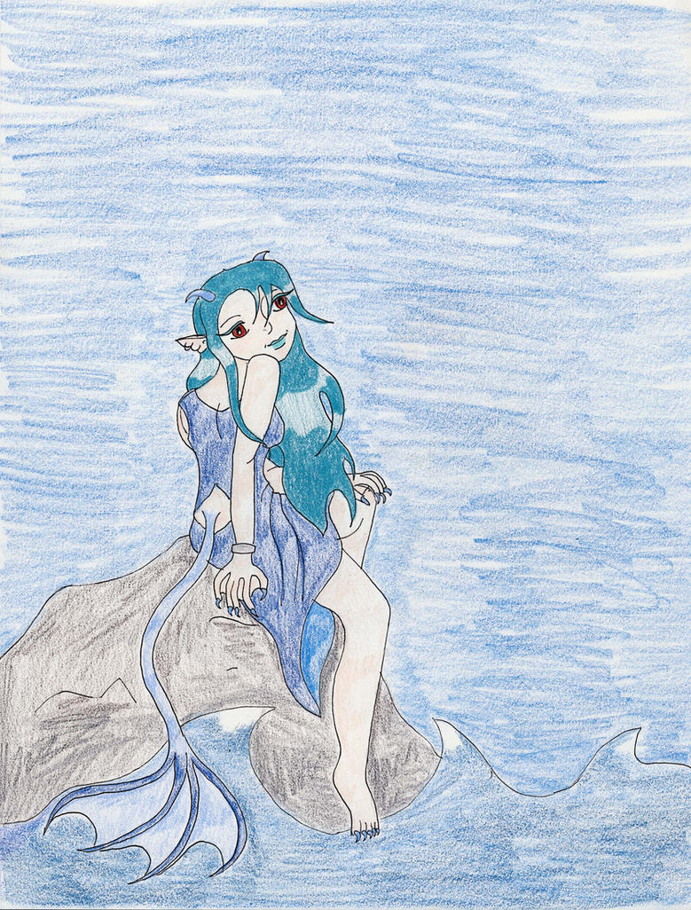 Seer By the Sea by Midorii-kiri
