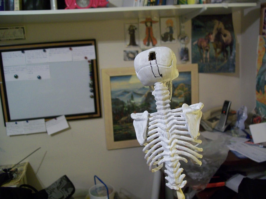 Mini Undertaker Scythe Rear WIP by Midorii-kiri