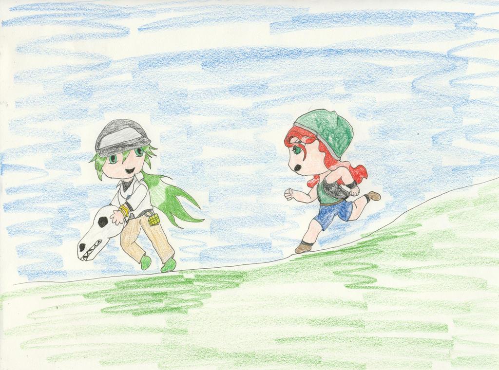 The Chase by Midorii-kiri