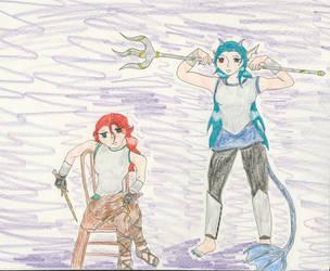 Waiting On the Enemy by Midorii-kiri