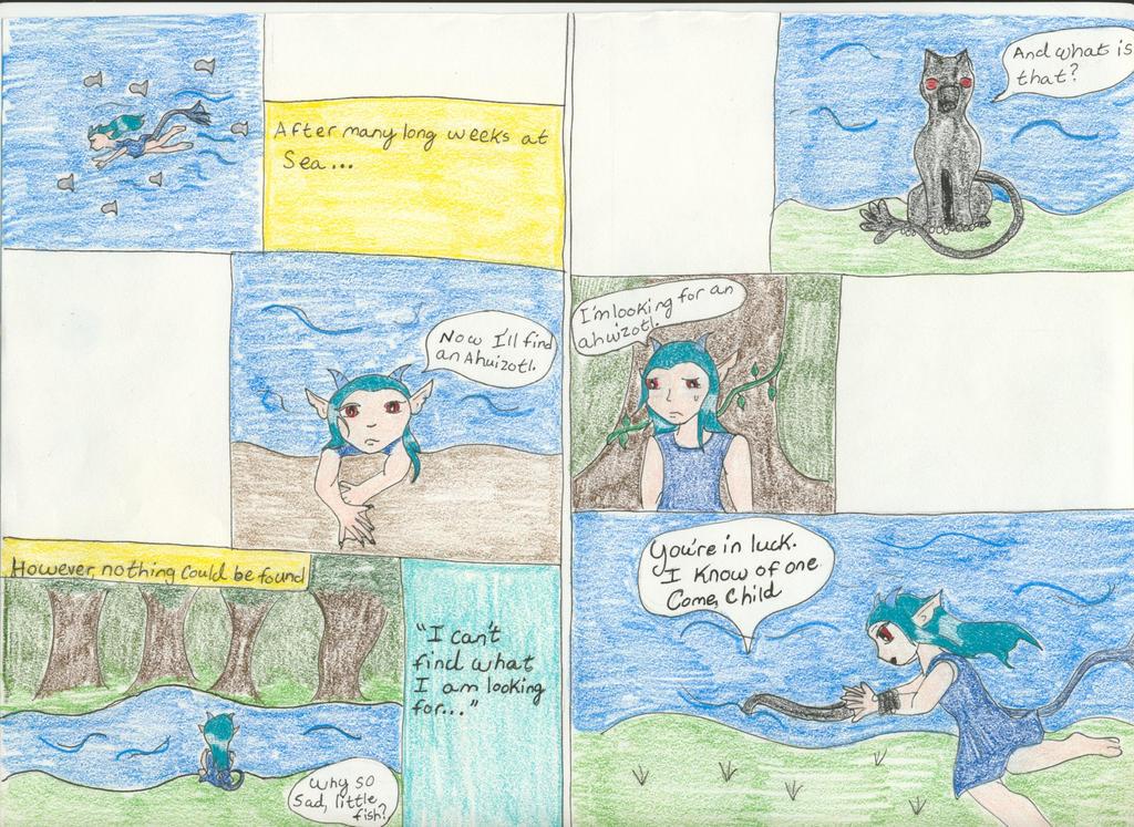 Finding the Ahuizotl pg 2 by Midorii-kiri