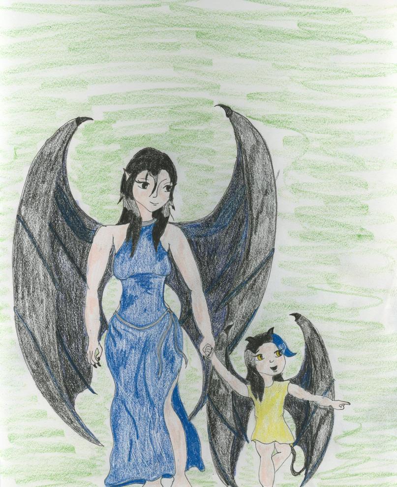 Mama Look! by Midorii-kiri