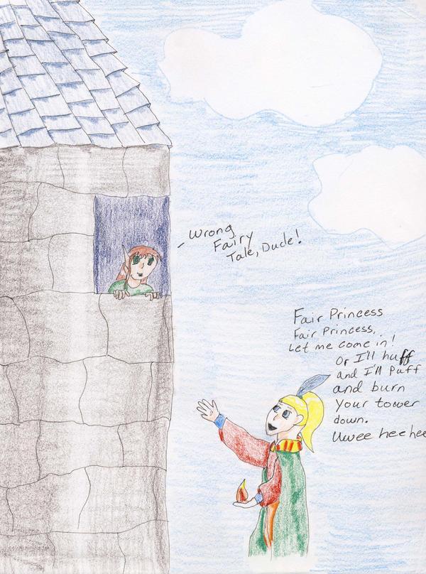 No. 54 Fairy Tale Mistake by Midorii-kiri