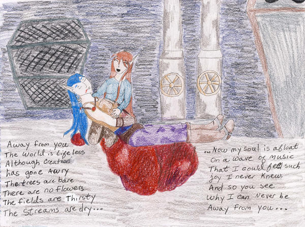 No. 43: Away from You by Midorii-kiri