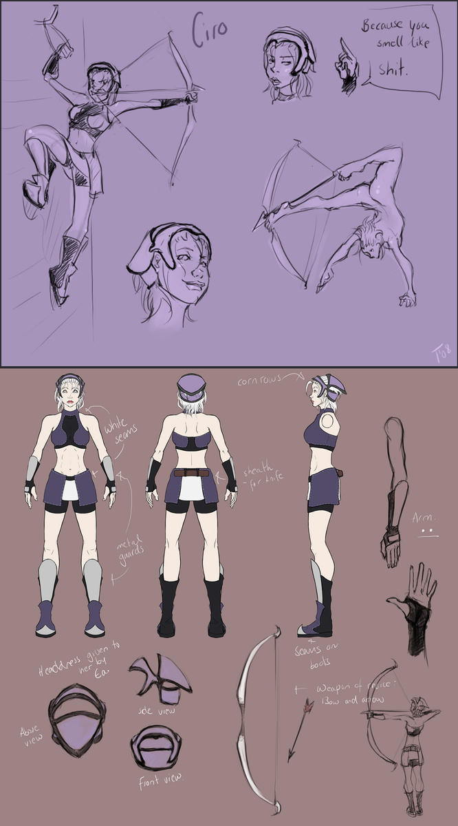 Ciro character sheet by Tanize