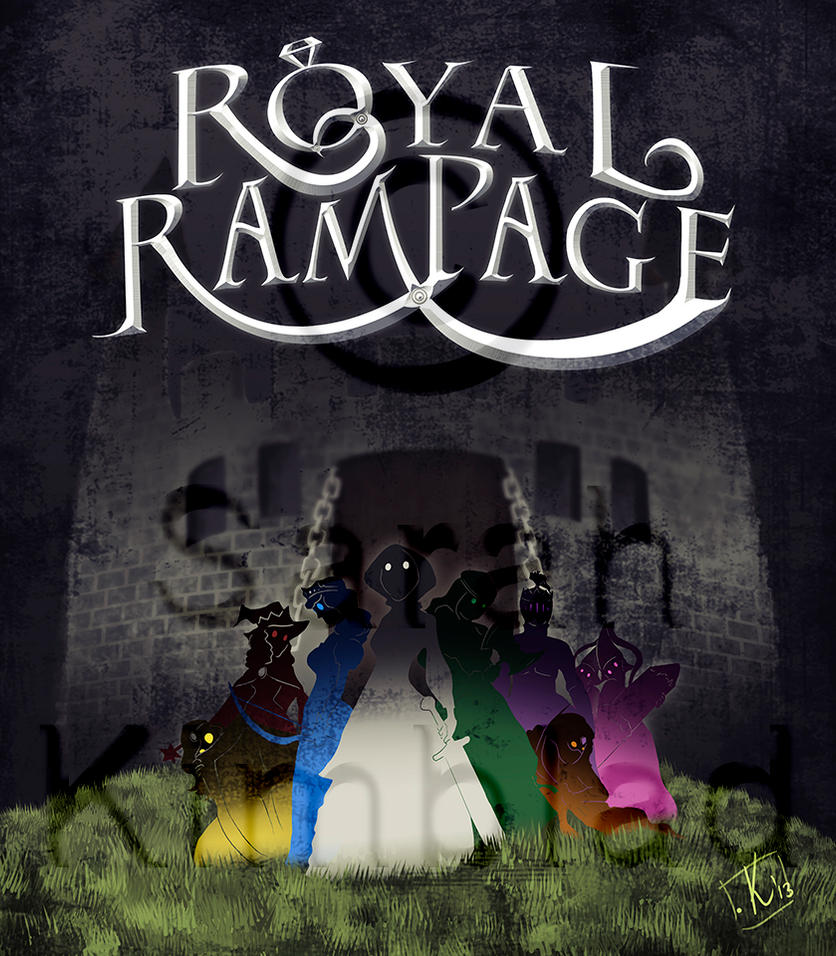 Royal Rampage Poster by Tanize