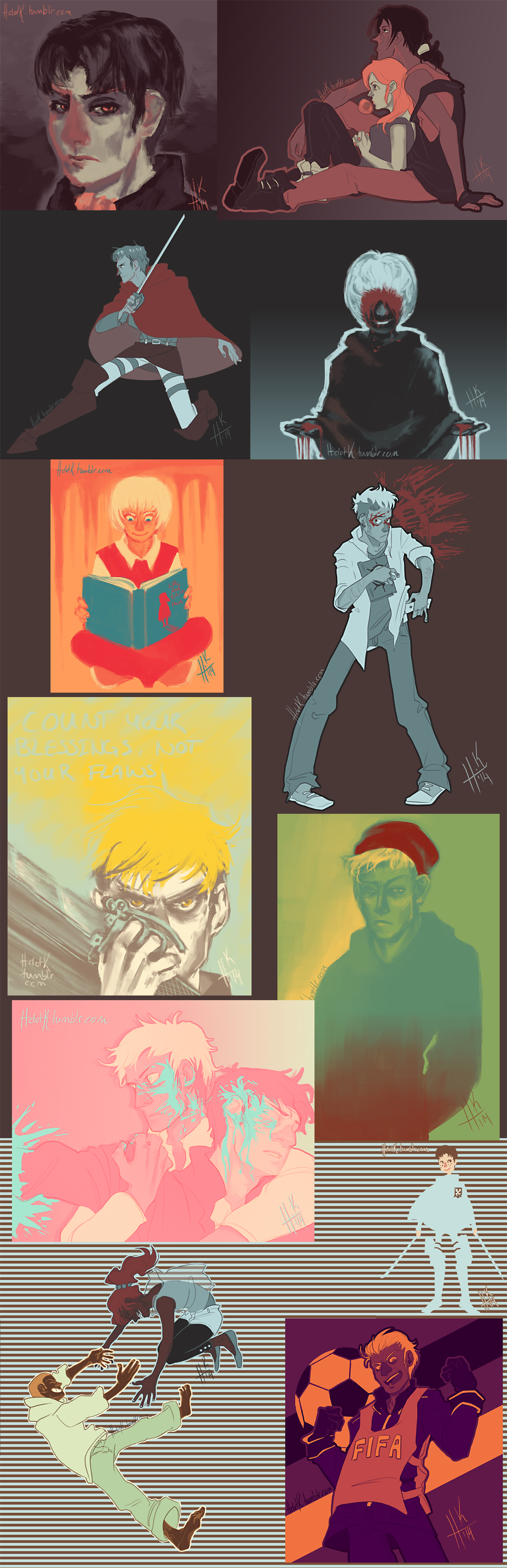 Palette Challenge Compilation by Tanize