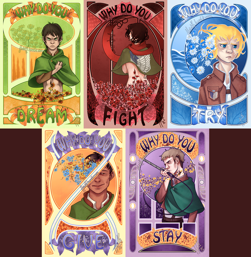 SNK posters by Tanize