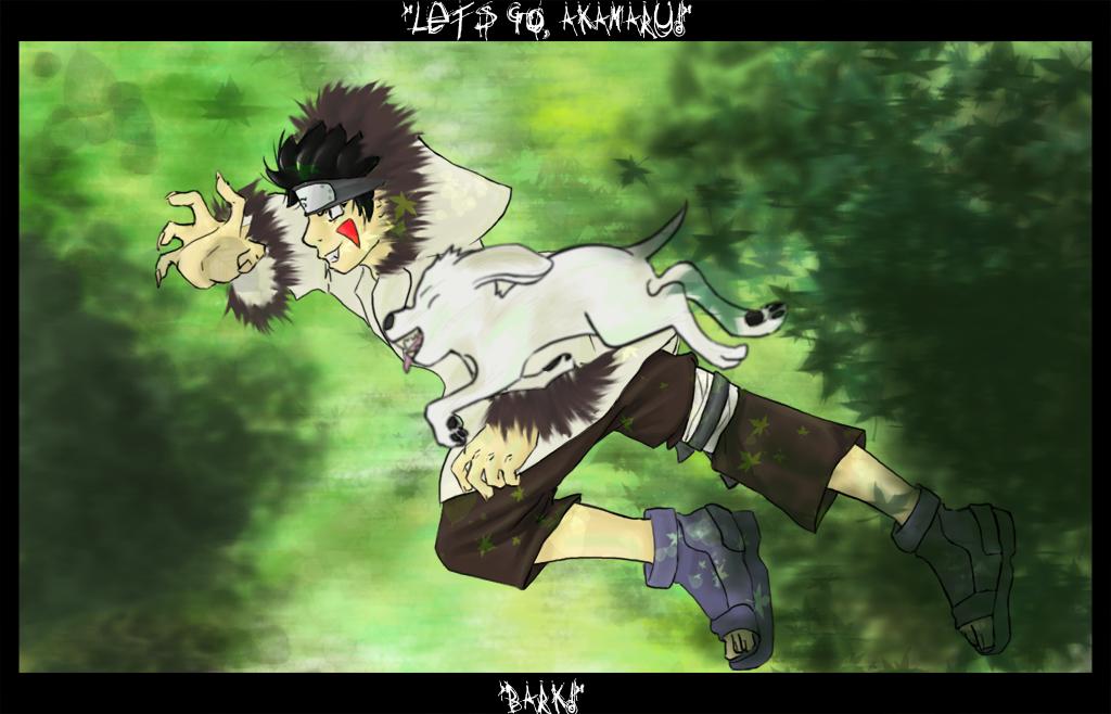 Naruto: Inuzuka Kiba by Tanize
