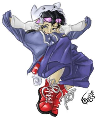 Gaia avatar sketch by Tanize