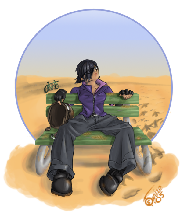 Lonely Desert by Tanize