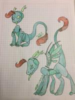 Dragon Pen/Dj fusion by PenWingStar