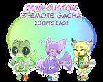 [Adopts] Semi-Custom 3-Emote Gacha - OPEN by PenWingStar