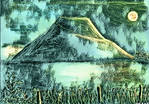 Silbury Procession (Abstract Pastels and Digital)