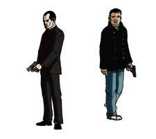 Frank and Jamie by Samorai
