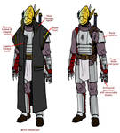 Jackal Guard soldier's outfit
