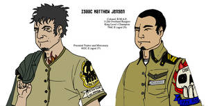 Major Isaac Matthew Jensen by Samorai