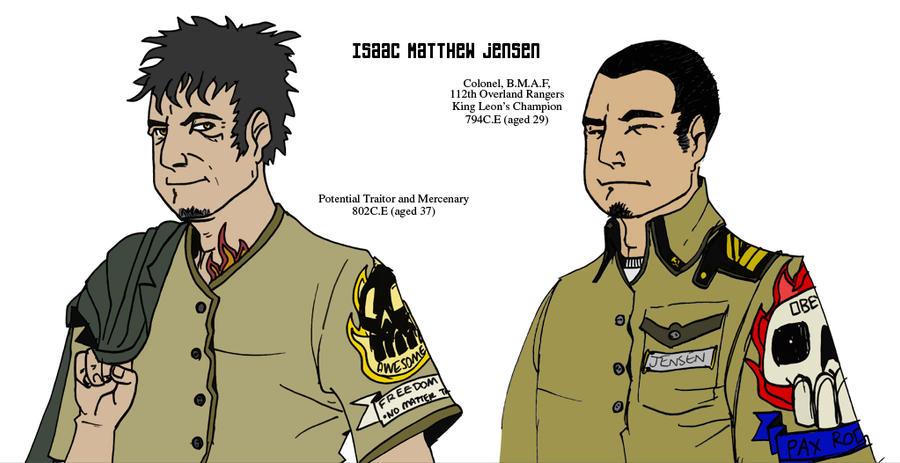 Major Isaac Matthew Jensen