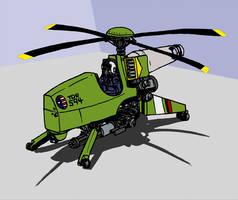 Helicopter Gunpod by Samorai