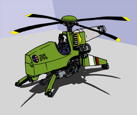 Helicopter Gunpod