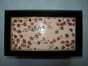 Cherry Blossom Box Lid