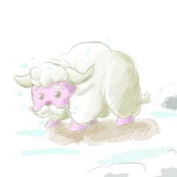 Where the Ice Fluffalo Roam by TedChen