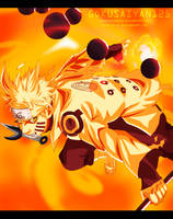 Naruto Power Kyubi by SenniN-GL-54