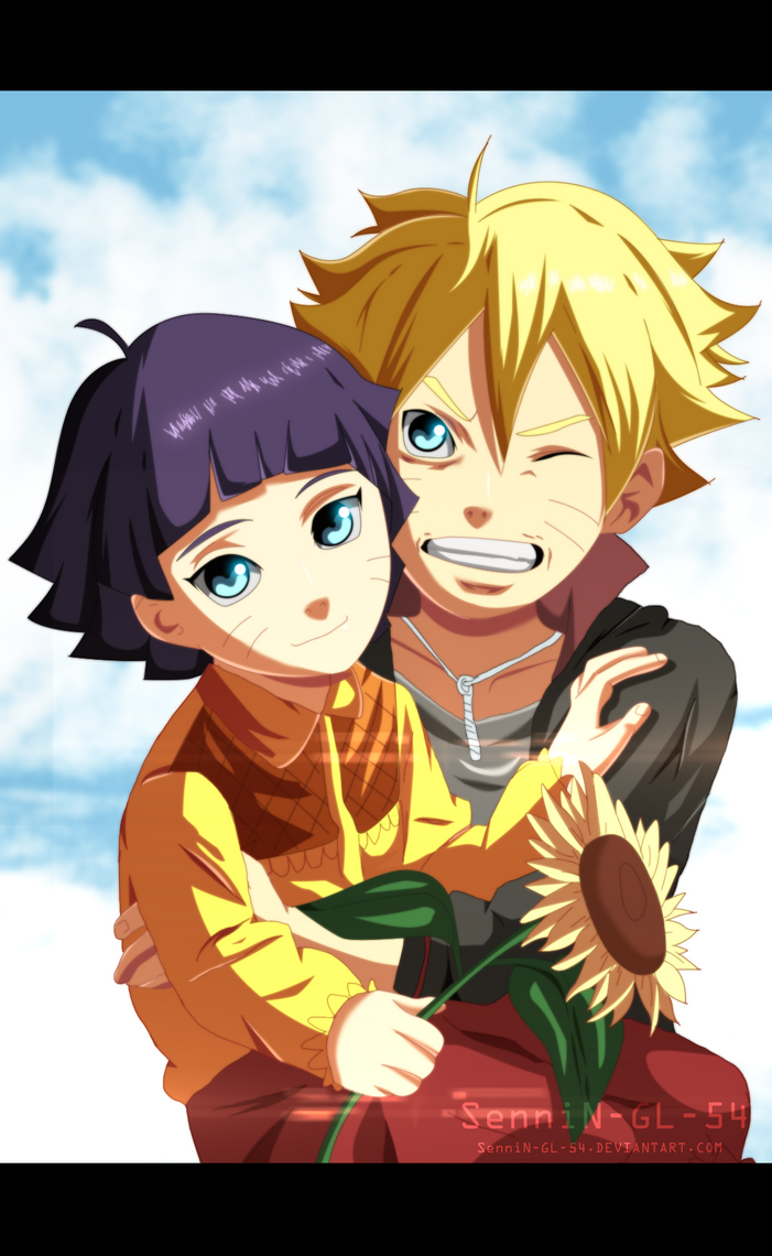 boruto and himawari by SenniN-GL-54