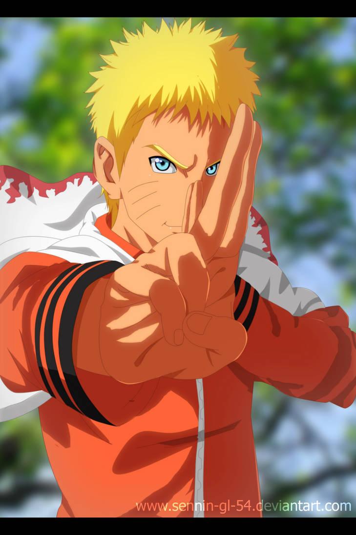 Naruto Uzumaki by SenniN-GL-54