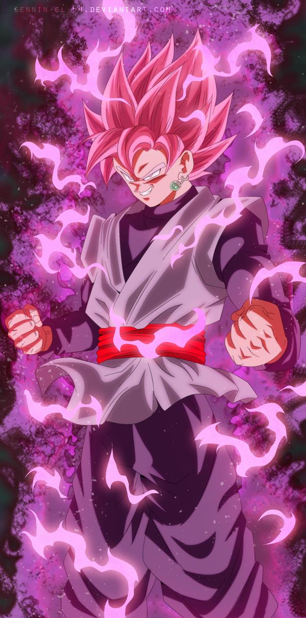 Dragon Ball Super Manga 20 Black Ssj Rose V2 By Sennin
