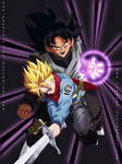 Mirai Trunks and Black - Collab