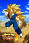 Vegito SSJ 3 Super Dragon Ball Heroes