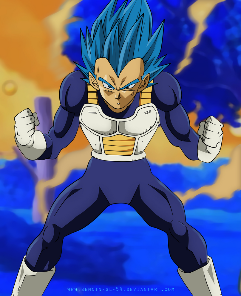 Vegeta Blue Perfect