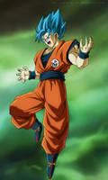 Goku Blue - Universe Survival - New Environment