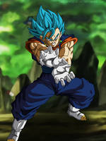 Vegetto in the Universe Survival - Dragon Ball Sup by SenniN-GL-54