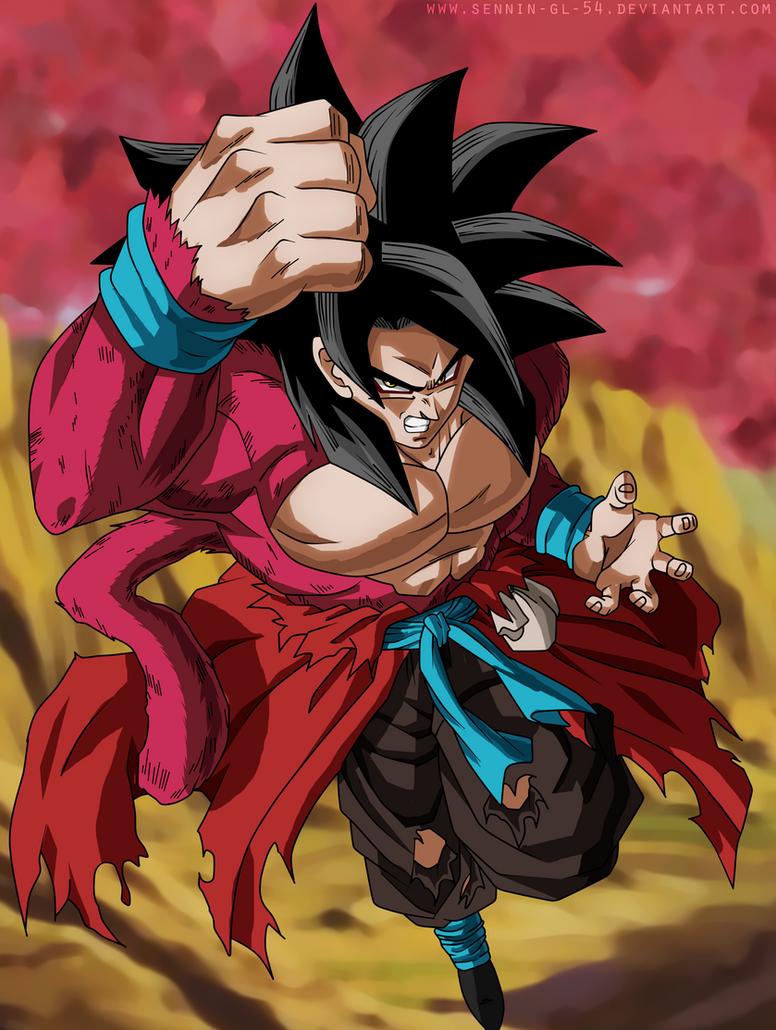 Goku xenoverse ssj4 fast color by sennin gl 54 on deviantart - Dragon ball xenoverse ss4 vegeta ...