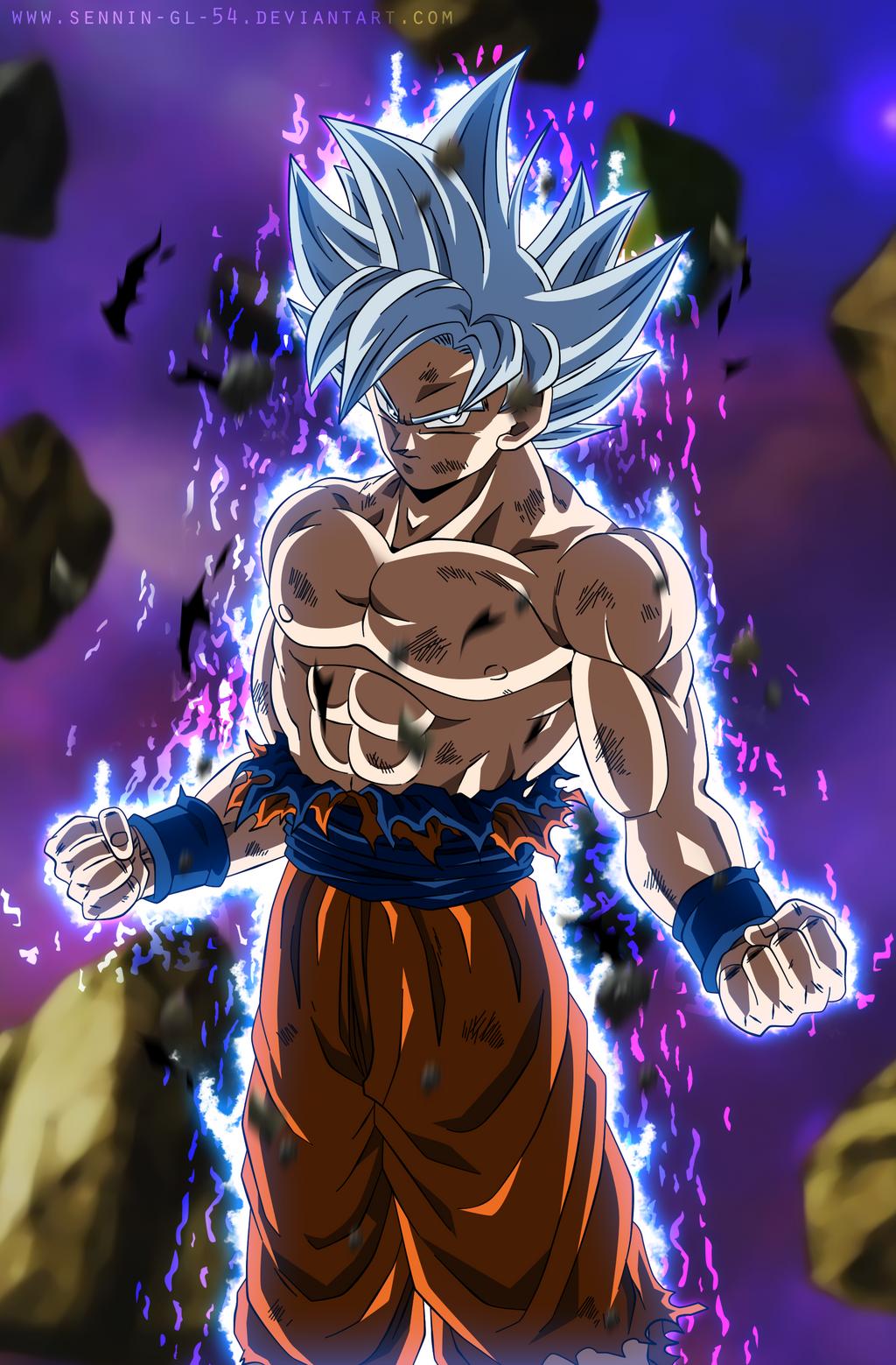Goku Perfect Ultra Instinct - Silver Goku EP.129 by SenniN-GL-54 on DeviantArt