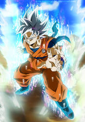Goku Perfect Ultra Instinct - Clothes of CC by SenniN-GL-54